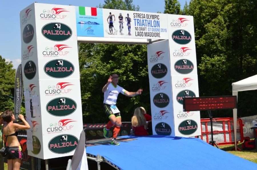 Olimpic Triathlon Stresa: Palzola 'in gara