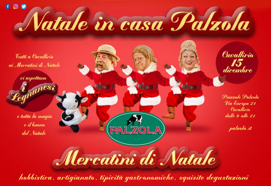 Il 15 Dicembre torna Natale in Casa Palzola!!!