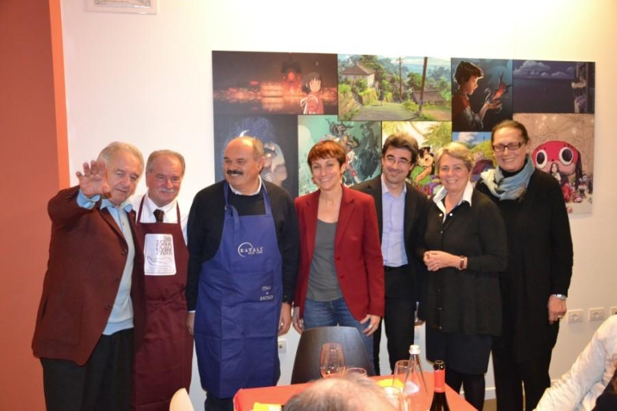 Farinetti a Borgomanero per sostenere la rete nondisolopane
