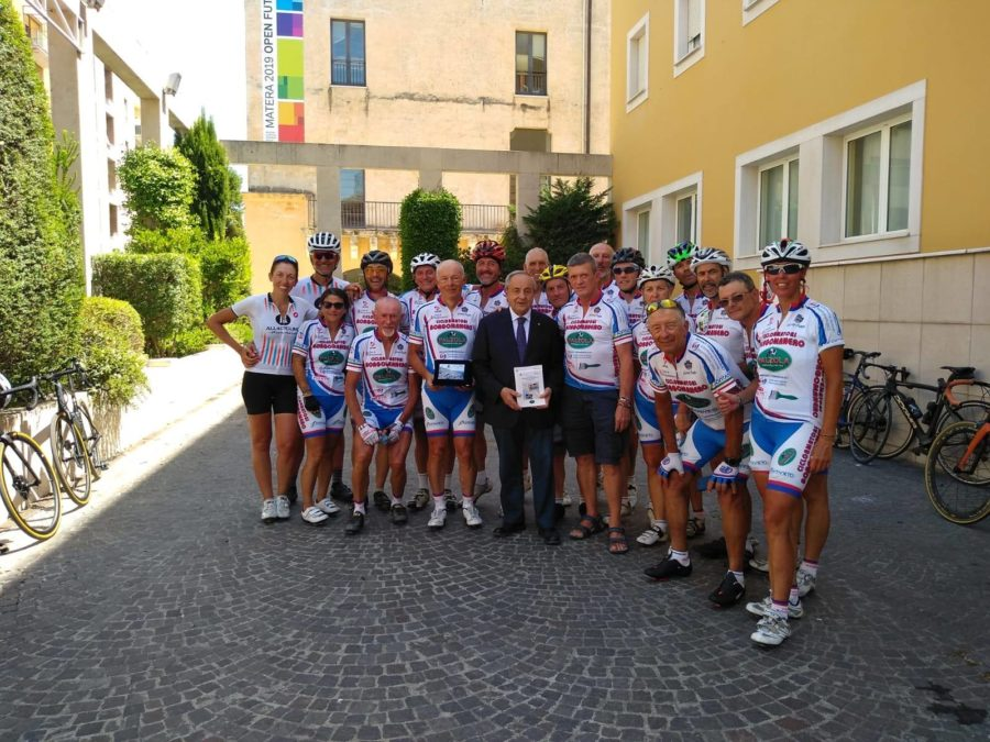 La Cicloamatori Palzola Borgomanero ha raggiunto Matera, capitale europea della Cultura 2019