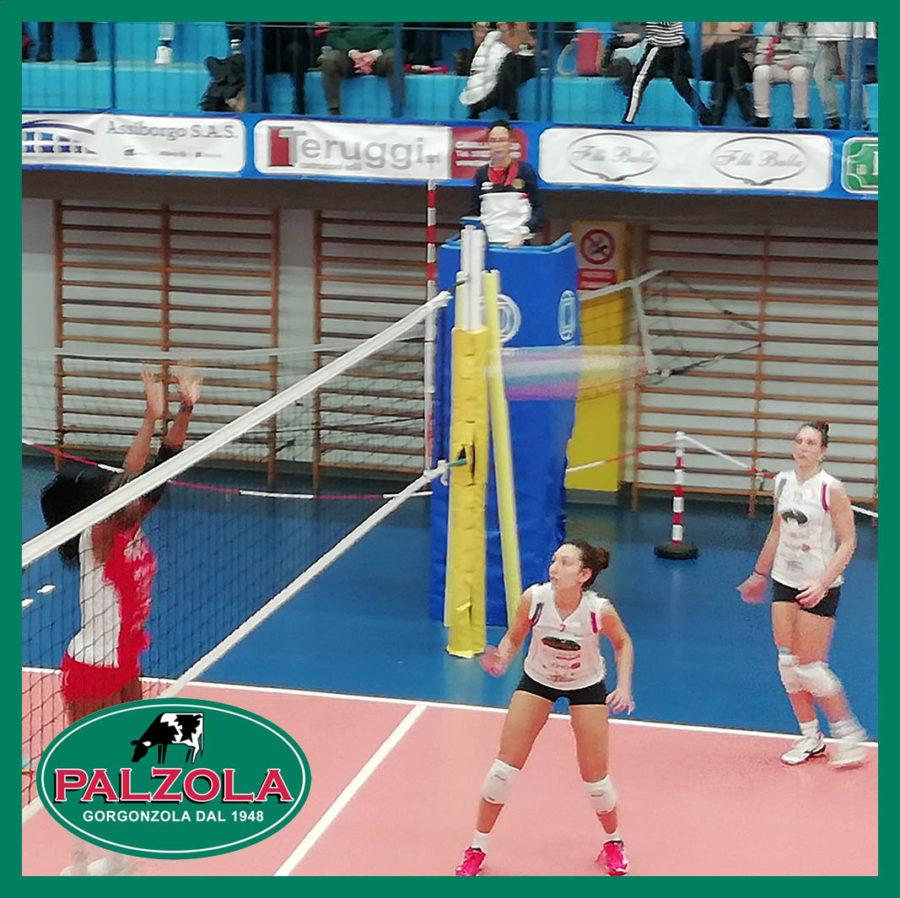 Palzola Pavic vince e raggiunge il quarto posto della B2 femminile di Volley